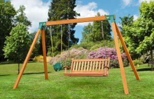 Eastern Jungle Gym Classic Cedar Bench